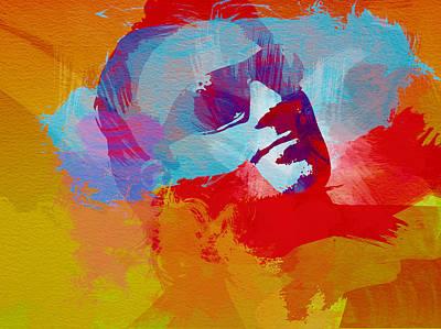 Bono U2 Print by Naxart Studio