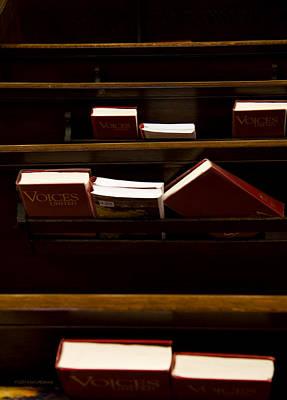 Book Of Worship II Print by Carol Hathaway