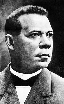 Born Into Slavery Photograph - Booker T. Washington, African-american by Photo Researchers