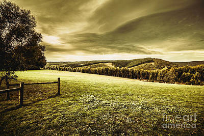 Pasture Scenes Photograph - Boonah Countryside by Jorgo Photography - Wall Art Gallery