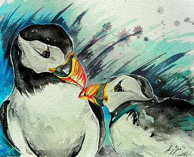 Puffin Mixed Media - Boop by Sydney Gregory