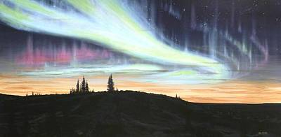 Scott Melby Painting - Borealis by Scott Melby