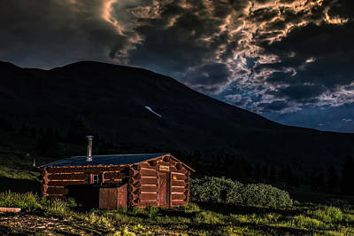 Colors Photograph - Boreas Pass Cabin by Michael J Bauer