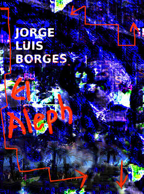 American Painting - Borges' Aleph Poster 2 by Paul Sutcliffe