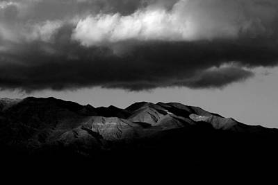 Borrego Clouds Print by Peter Tellone