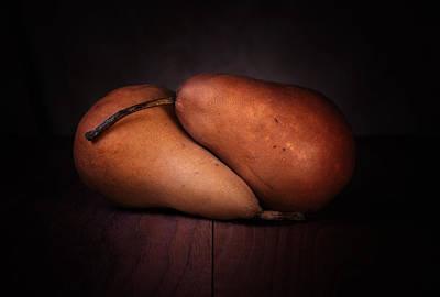 Healthy Photograph - Bosc Pears by Tom Mc Nemar