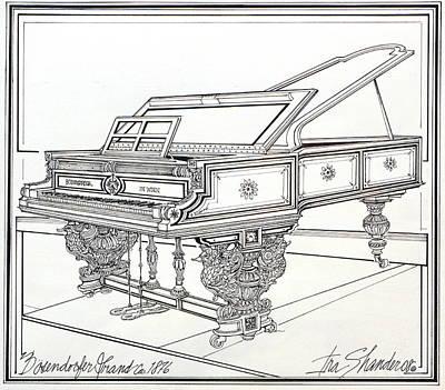 Bosendorfer Grand Piano 1876 Original by Ira Shander