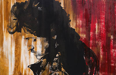 Bruce Springsteen Mixed Media - Boss by Brad Jensen