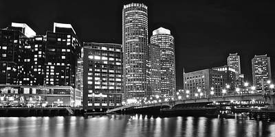 Boston Black And White Print by Frozen in Time Fine Art Photography