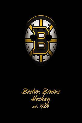 Boston Bruins Established Print by Joe Hamilton