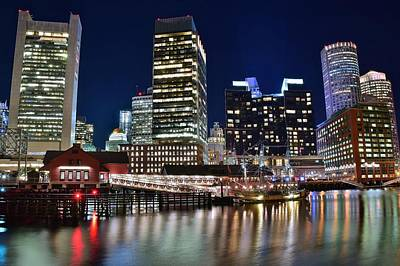 Boston Harbor Tea Party Print by Frozen in Time Fine Art Photography