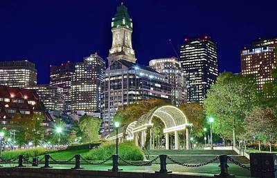 Boston In The Park Print by Frozen in Time Fine Art Photography