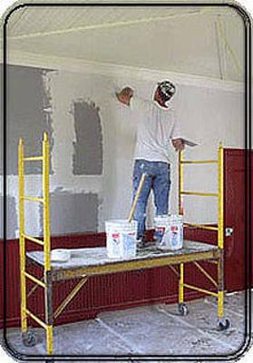 John Adams Painting - Boston Plastering Contractor by John Adams