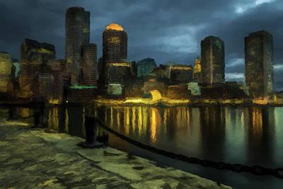 Photograph - Boston Skyline by David Dehner