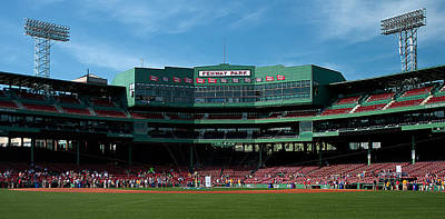 Fenway Park  - Boston's Gem by Paul Mangold