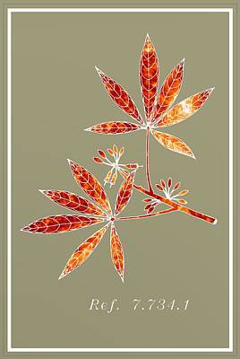 Mist Digital Art - Botany Ref. 7.734.1 by Alberto  RuiZ