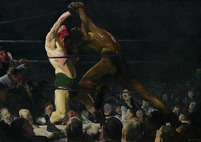 Boxer Painting - Both Members Of This Club by George Bellows