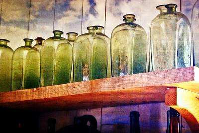 Photograph - Bottle Row by Marty Koch