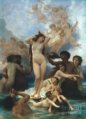 Bouguereau: Birth Of Venus Print by Granger