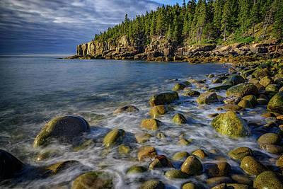 Incoming Tide Photograph - Boulder Beach Morning by Rick Berk