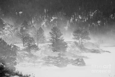 Boulder Canyon And Nederland Winter Landscape Print by James BO  Insogna