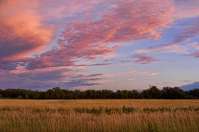 Boulder County Colorado Country Sunset Print by James BO  Insogna