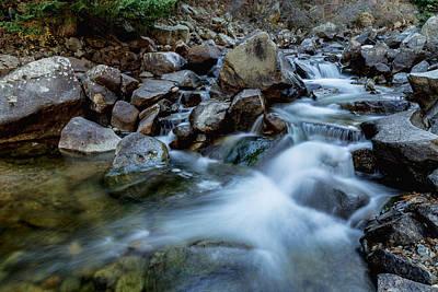 Boulder Creek Water Falling Print by James BO  Insogna