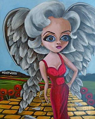 Boulevard Of Broken Wings Print by Bonnie Diaz