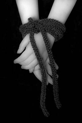 Black Tie Photograph - Bound Hands by Joana Kruse