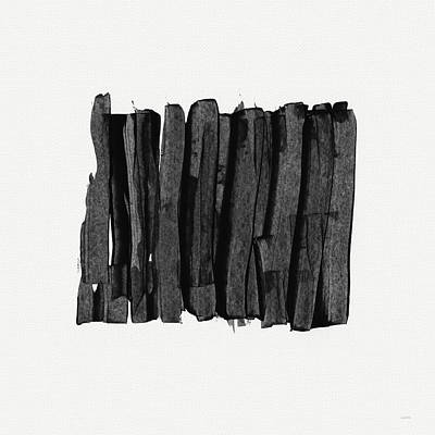 Abstract Mixed Media - Boundaries- Art By Linda Woods by Linda Woods