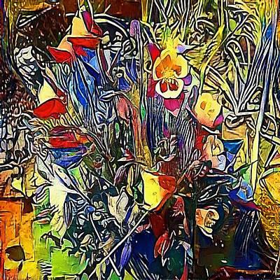 bouquet - My WWW vikinek-art.com Print by Viktor Lebeda