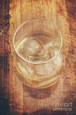 Bourbon And Ice Print by Jorgo Photography - Wall Art Gallery