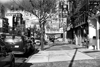 Bowery Photograph - Bowery Days by John Rizzuto