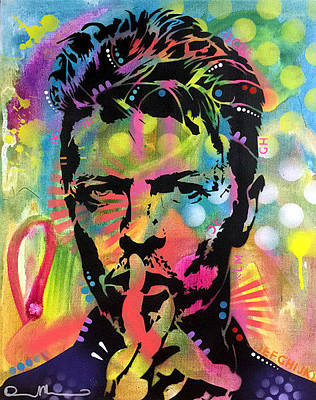 David Bowie Painting - Bowie by Dean Russo