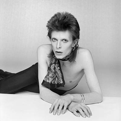 David Photograph - Bowie Diamond Dogs Shoot  by Terry O'Neill