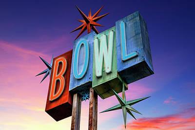 Bowling Americana Print by Kelley King