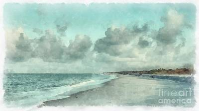 Bowmans Beach Photograph - Bowman Beach Sanibel Island Florida by Edward Fielding