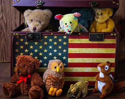 Box Full Of Bears Print by Garry Gay