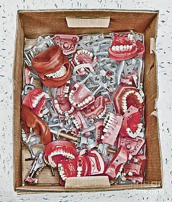 Box Of Dental Equipment Print by Skip Nall
