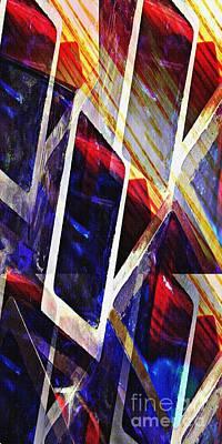 Boxes 2 Print by Sarah Loft