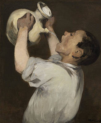 Water Pitcher Painting - Boy With Pitcher by Edouard Manet