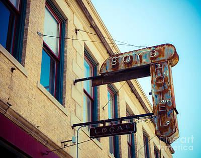 Photograph - Boyd Hotel by Sonja Quintero