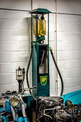 Petroleum Photograph - Bp Gas Pump by Adrian Evans