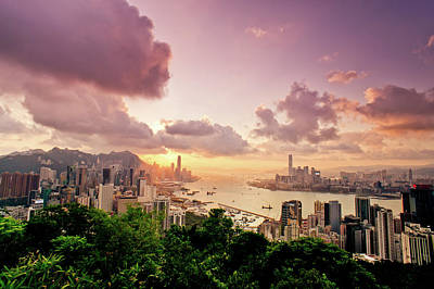 Hong Kong Photograph - Braemar Hill Sunset by Dragon For Real