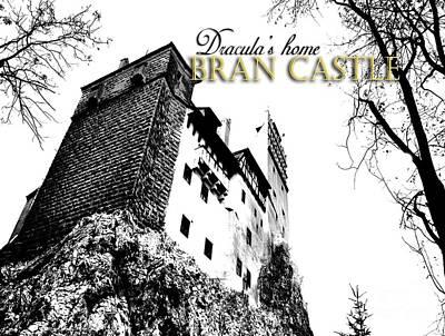 Dracula Digital Art - Bran by Flash28photography