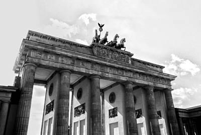 Brandenburg Gate - Berlin Print by Juergen Weiss