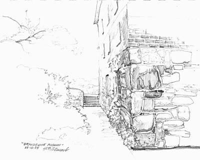 Brandywine Path Print by John Norman Stewart