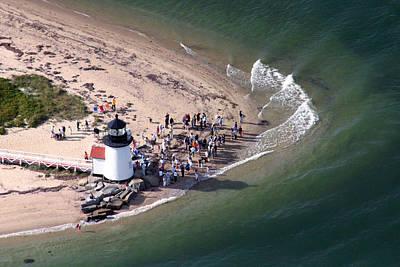 Brant Point Lighthouse Nantucket Massachusetts Print by Duncan Pearson