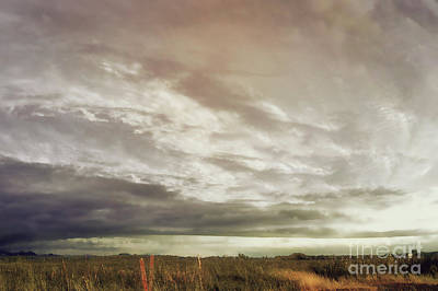 Photograph - Brassy Painting In The Sky by Janie Johnson