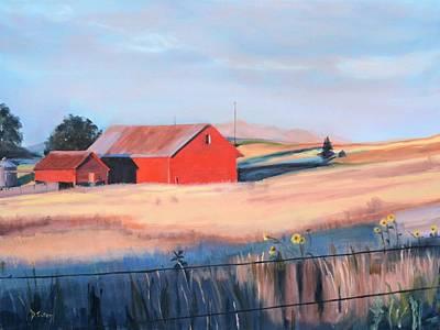 Brazelton Ranch Original by Donna Tuten
